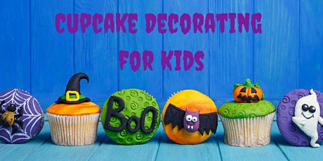 06 October - KIDS & ADULTS: Cupcake Decorating Class tickets