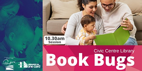 Book Bugs: 10.30am- Civic Centre Library tickets