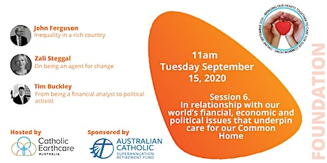 Session 6. Our relationship with financial, economic & political issues 2/2 tickets