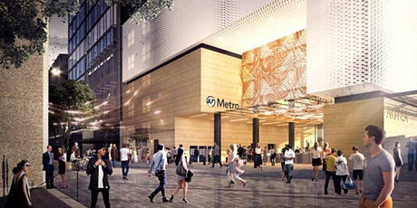 Aotea Station hoardings art and site tour tickets