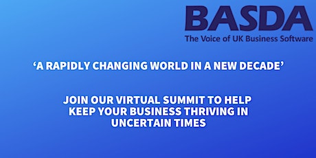 BASDA Annual Summit 2020: 'A Rapidly Changing World in a New Decade' tickets