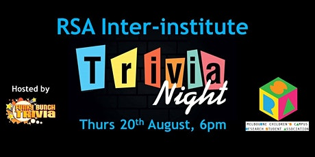 MCC RSA Inter-Institute Trivia Night tickets