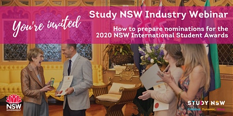 Study NSW Industry Webinar tickets