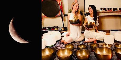 GLOBAL New Moon Sound Healing (online) tickets