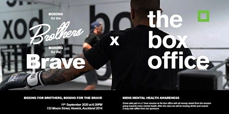 Boxing For The Brave tickets