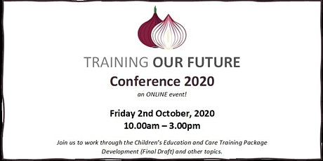 Training Our Future Conference 2020 tickets