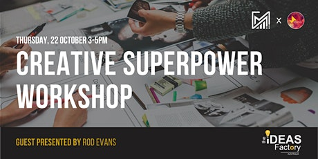 Creative Superpower Workshop tickets