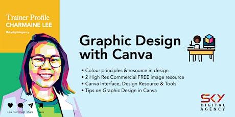 Graphic Design with Canva biglietti