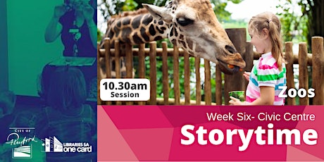 Storytime: Week Six - 10.30am tickets