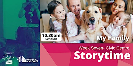 Storytime: Week Seven - 10.30am tickets
