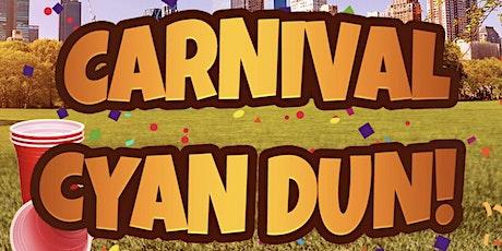 CARNIVAL CYAN DUN tickets
