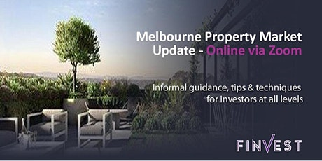 BTS Melbourne Property Market Update - Via Zoom! 11th November 2020 tickets