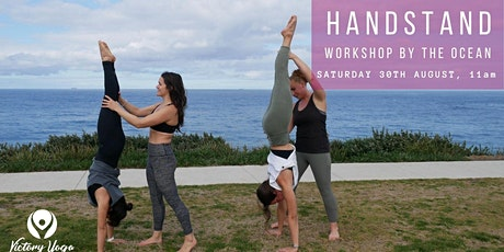 Handstand Workshop By The Ocean tickets