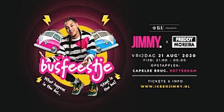 JIMMY. x Freddy Moreira 'Busfeestje' tickets