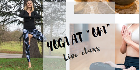 "Yoga at ""om"" - Yin Yoga tickets"