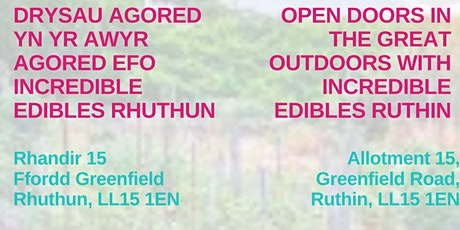 Drysau agored yn yr Awyr Agored  / Open Doors in the Great Outdoors tickets