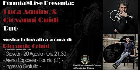 Luca Aquino & Giovanni Guidi Duo biglietti