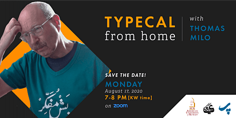 TypeCal from Home with Thomas Milo tickets