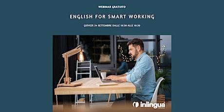 English for Smart Working biglietti