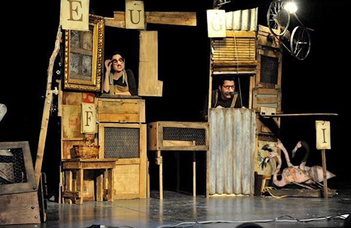 Imagen de Cía.Zum Zum Teatre LA GALLINAS DE LOS HUEVOS DE ORO (MENUTSBARRIS)