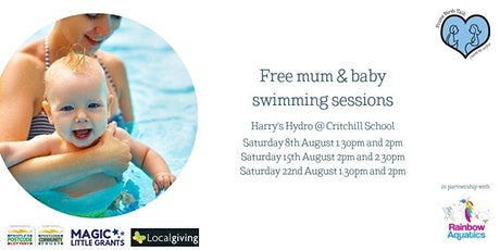 Free mum and baby swimming sessions tickets