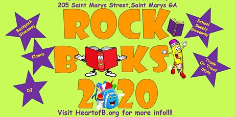 Rock the Books 2020 tickets