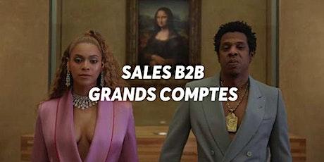 Sales B2B Grands Comptes Part2 : démo & closing billets