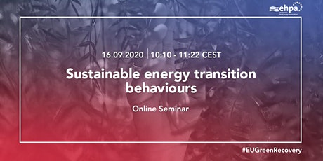 The Energy Transition Series - Sustainable energy transition behaviour tickets