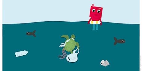 AUSGEBUCHT*CODE WEEK:  KI-mit intelligenten Maschinen für ein sauberes Meer Tickets