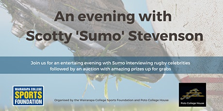 An evening with Scotty 'Sumo' Stevenson tickets