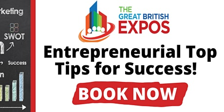 Entrepreneurial Top Tips for Success tickets