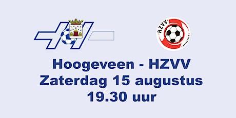 Hoogeveen - HZVV tickets