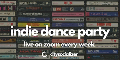 Indie Dance Party LIVE! - 60s/70s/80s Special by Citysocializer tickets