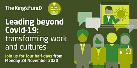 Leading beyond Covid-19 (virtual conference) tickets