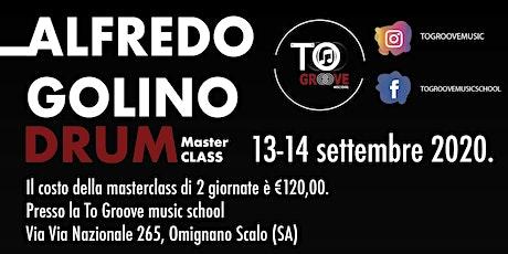 TOGROOVE Masterclass ALFREDO GOLINO biglietti