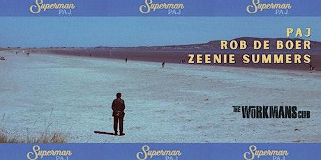 Paj, Rob De Boer & Zeenie Summers intimate show tickets