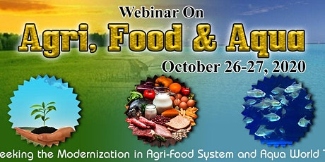 Webinar On Agri, Food & Aqua tickets