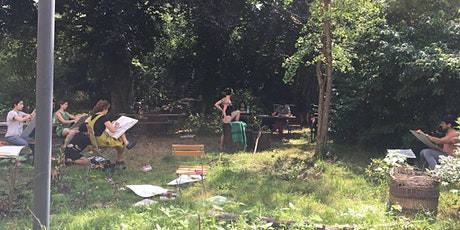 Art-Expression Workshops' Life-Drawing Meetups in August tickets