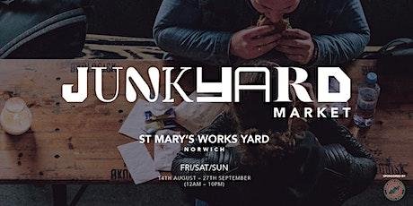 Junkyard Market   Street Food & Drinks - Norwich tickets