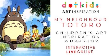 My Neighbour Totoro Art Inspiration Workshop For Children tickets
