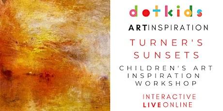 Turner Sunsets Art Inspiration Workshop For Children tickets