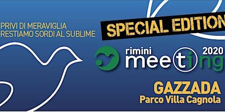 Meeting di Rimini 2020 a Villa Cagnola - Gazzada biglietti