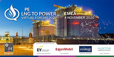 LNG to Power Forum EMEA tickets