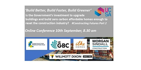 'Build Better, Build Faster and Build Greener' tickets