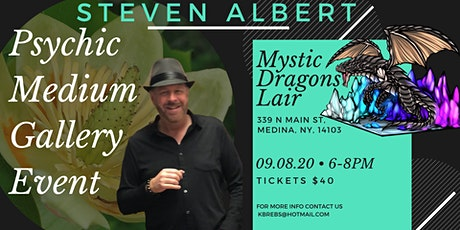 Steven Albert: Psychic Gallery Event - Mystic Dragons tickets