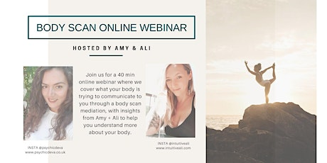 Intuitive Body Scan Meditation + Webinar tickets