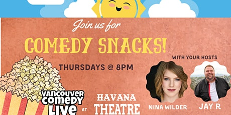 Comedy Snacks tickets