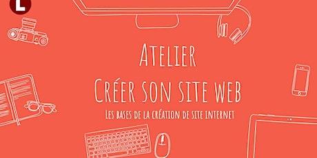 Créer son site web billets