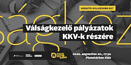 Kreatív Kolozsvár - Válságkezelő pályázatok KKV-k részére tickets