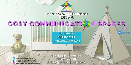 Virtual Open Day Event - Cosy Communication Spaces tickets
